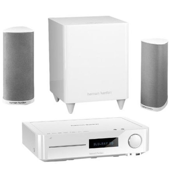 Harman kardon subwoofer blinkt weiß