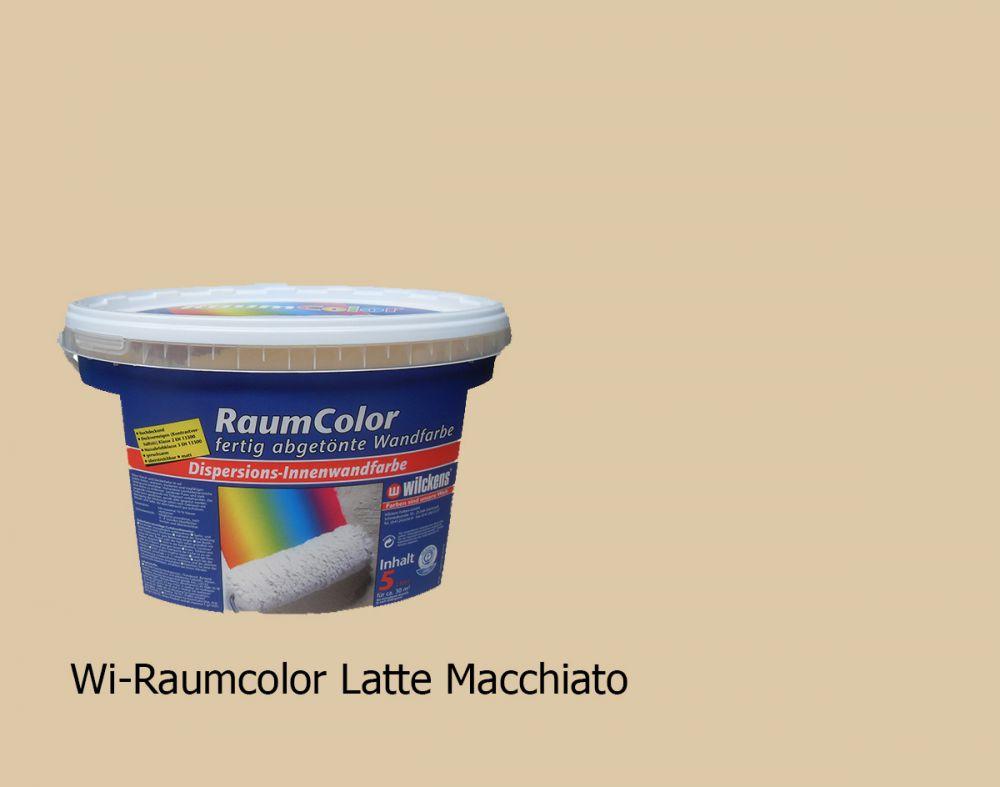wilckens raumcolor abget nte wandfarbe innenwandfarbe latte macchiato 5 l ebay. Black Bedroom Furniture Sets. Home Design Ideas