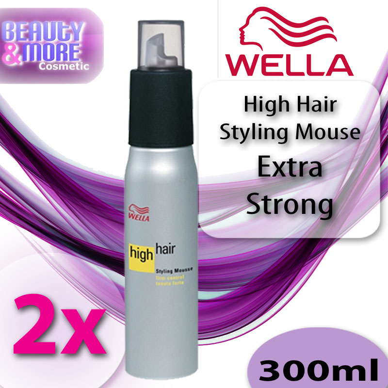 high hair styling 2x wella high hair styling mousse haarschaum 2929