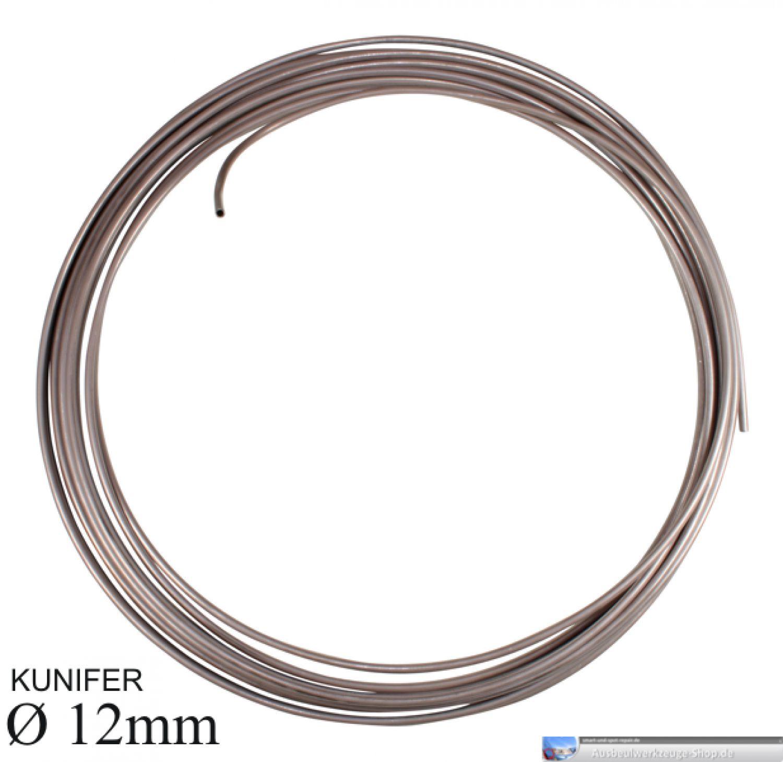 10,13€//m KUNIFER 12mm Durchmesser auf 7,6 Meter Top Qualität CUNIFER Leitung