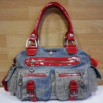 11515 Gabaara Stoff Handtasche Schultertasche Bag viele ...