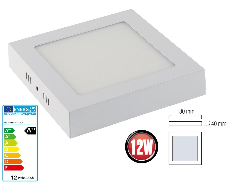 Led aufputz aufbau wandleuchte deckenlampe panel for Deckenlampe led rund