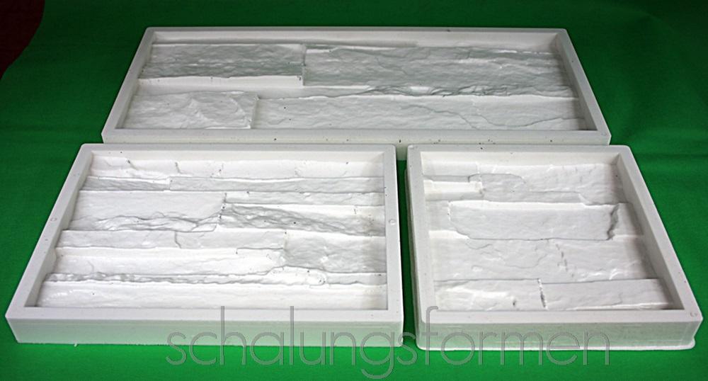 3 formen aus silikon kautschuk schalungsformen 0112131. Black Bedroom Furniture Sets. Home Design Ideas