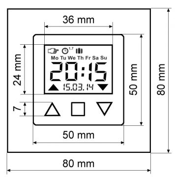 vestamatic smart time control rolladen zeitschaltuhr uhr. Black Bedroom Furniture Sets. Home Design Ideas