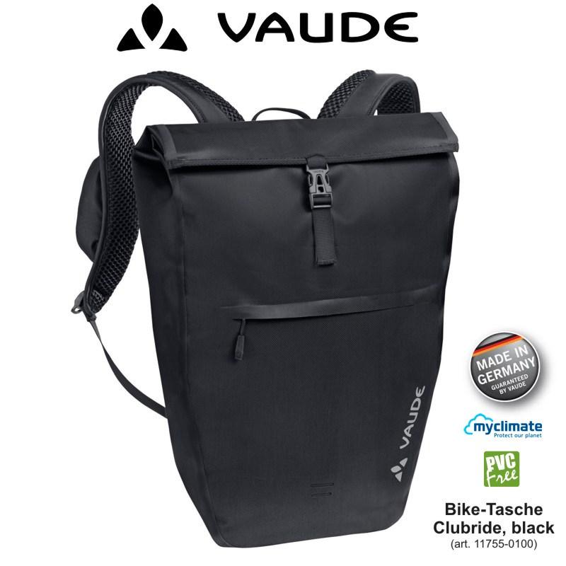 rucksack und fahrradtasche
