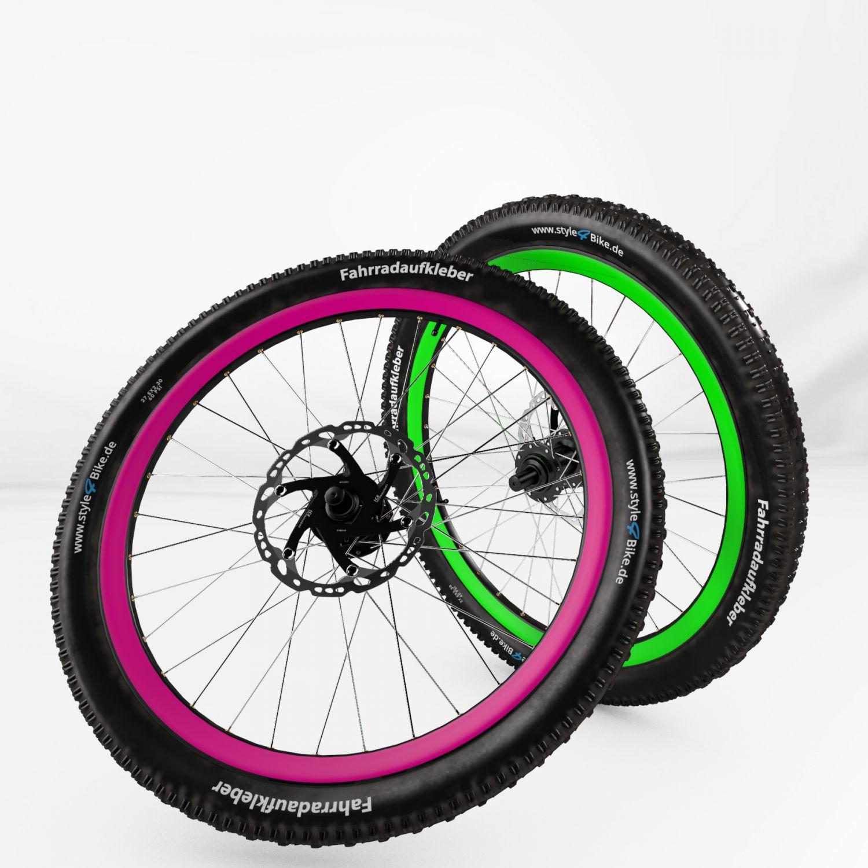 felgenaufkleber fahrrad felgenrandaufkleber bike. Black Bedroom Furniture Sets. Home Design Ideas