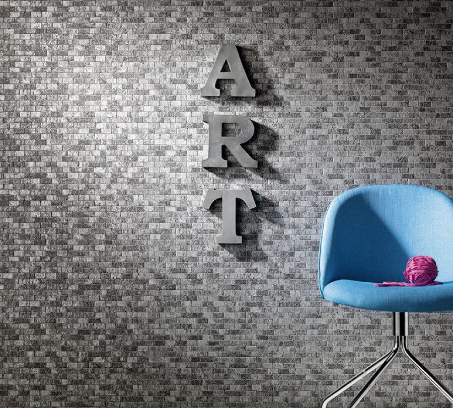 brix unlimited 2017 6941 15 tapete vlies steintapete maueroptik schwarz silber ebay. Black Bedroom Furniture Sets. Home Design Ideas