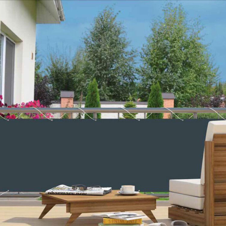 Balkon Sichtschutz Sonnenschutz Windschutz Garten Zaun Terrasse