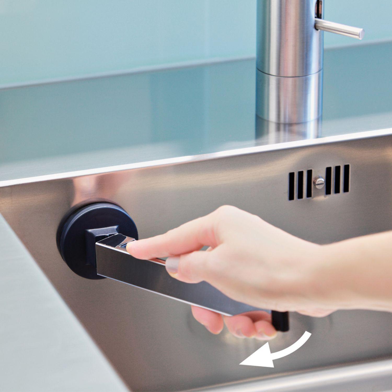 lappen halter sp llappen halter sp le sp ltuchhalter waschlappenhalter edelstahl ebay. Black Bedroom Furniture Sets. Home Design Ideas