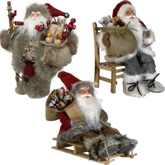weihnachtsmann figur nikolaus weihnachts mann m nner deko. Black Bedroom Furniture Sets. Home Design Ideas