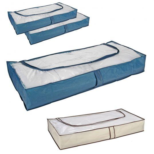 unterbettkommoden aufbewahrungstaschen taschen aufbewahrung unterbett kasten box ebay. Black Bedroom Furniture Sets. Home Design Ideas