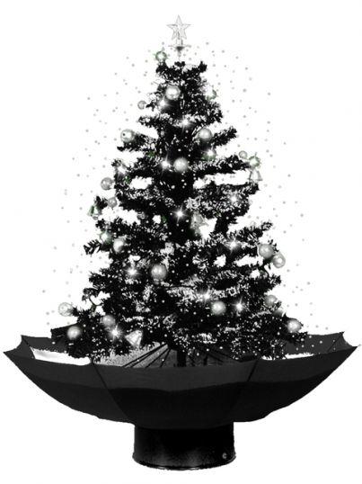 Weihnachtsbaum mit schneefall 75cm schneiender tannenbaum - Depot weihnachtsbaum ...
