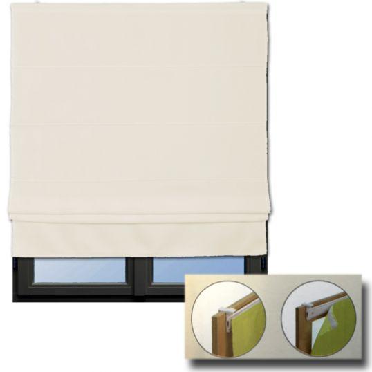 raffrollo zum klemmen klemmfix rollo jalousien blickdicht seitenzug rollos raff ebay. Black Bedroom Furniture Sets. Home Design Ideas